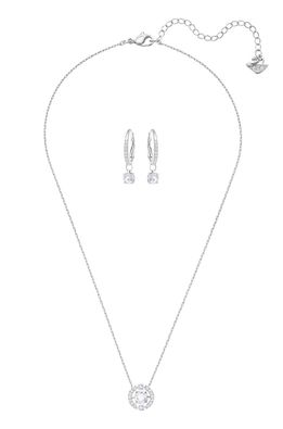 Swarovski - Náušnice a náhrdelník SPARKLING DC