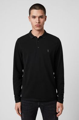 AllSaints - Tričko s dlhým rúkavom Reform Polo