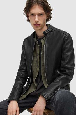 AllSaints - Geaca de piele Cora Jacket