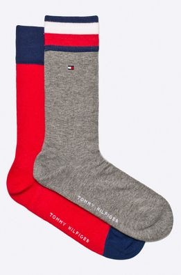 Tommy Hilfiger - Sosete Iconic Flag (2-pack)