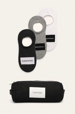 Calvin Klein - Kotníkové ponožky (3-pack)