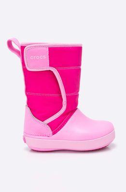 Crocs - Zimní boty dětské Lodge Point