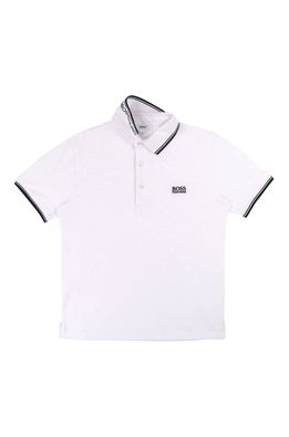 Boss - Tricou polo copii 104-110 cm