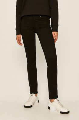 Levi's - Jeansi 712 Slim Straight Black Sheep