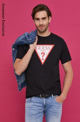 Guess - Tricou din colectia aniversara