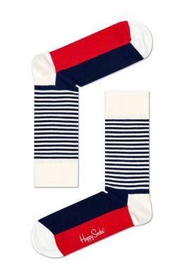 Happy Socks - Ponožky Stripe Gift Box (4-pak)
