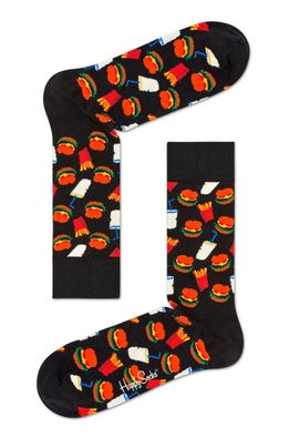Happy Socks - Sosete Hamburger