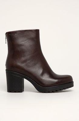 Vagabond - Kožené členkové topánky Grace