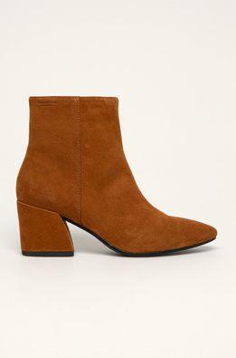 Vagabond - Kožené členkové topánky Olivia