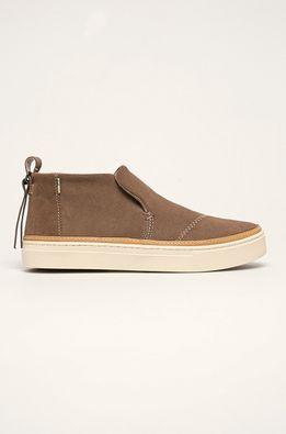 Toms - Kožené členkové topánky Paxton