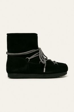 Moon Boot - Kožené snehule Far Side Low Suede