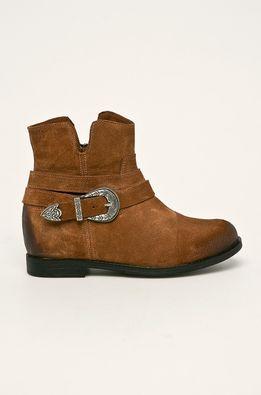 Badura - Kožené kotníkové boty