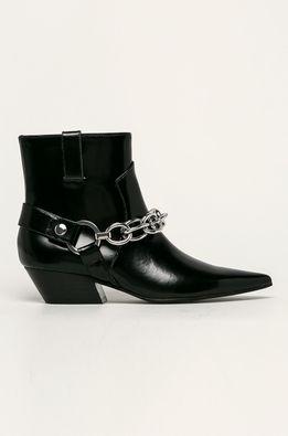Calvin Klein - Westernové kožené boty