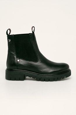 Gioseppo - Kožené topánky Chelsea