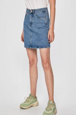 Vero Moda - Rifľová sukňa