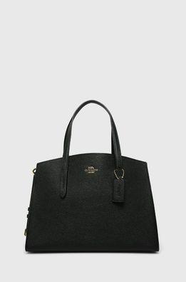 Coach - Кожена чанта