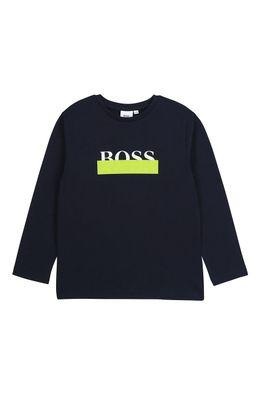 Boss - Detské tričko s dlhým rukávom 164-176 cm