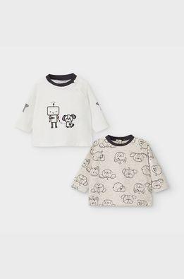Mayoral Newborn - Detské tričko s dlhým rukávom 60-86 cm (2-pak)