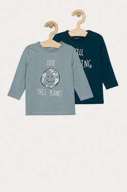 Name it - Detské tričko s dlhým rukávom 56-86 cm (2-pak)