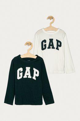 GAP - Detské tričko s dlhým rukávom 74-110 cm (2-pak)