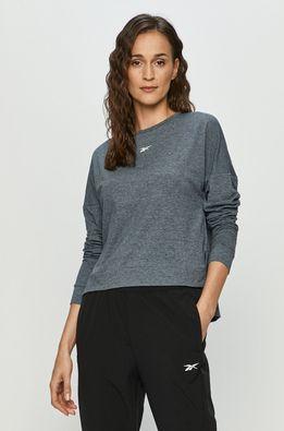 Reebok - Блуза с дълъг ръкав