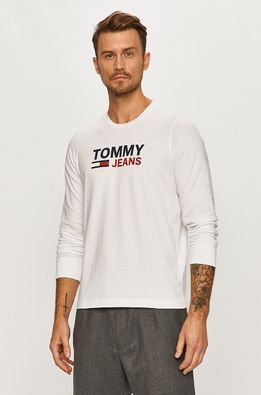 Tommy Jeans - Tričko s dlhým rúkavom