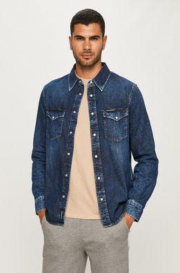 Calvin Klein Jeans - Rifľová košeľa