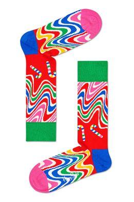 Happy Socks - Zokni Psychedelic Candy Cane