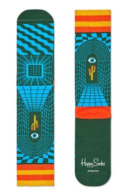 Happy Socks - Ponožky Athletic Illusion Crew