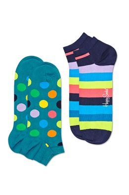 Happy Socks - Sosete scurte Big Dot (2-pack)