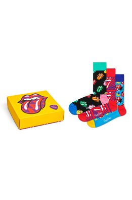 Happy Socks - Zokni Giftbox x Rolling Stones (3-pár)