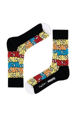 Happy Socks - Ponožky Throwup X Prosto
