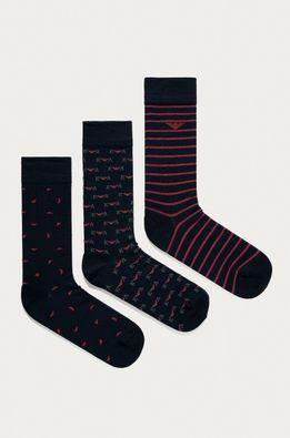 Emporio Armani - Ponožky (3-pak)