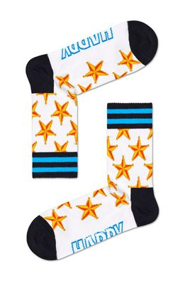Happy Socks - Sosete Athletic Sheriff Star Crew