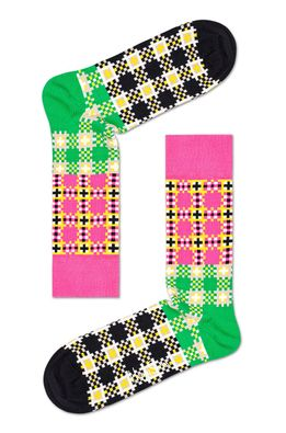 Happy Socks - Zokni Tartan Square Sock