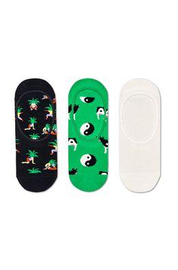 Happy Socks - Sosete scurte Ying & Yang (3-pack)