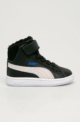Puma - Detské topánky Smash v2 Mid L Fur V Inf
