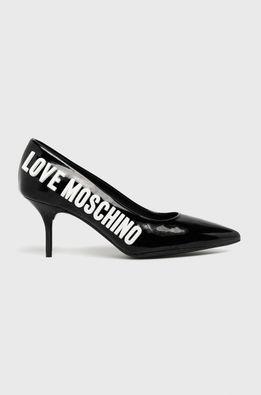 Love Moschino - Kožené ihličky