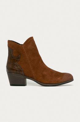 Marco Tozzi - Kožené kovbojské topánky