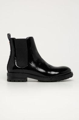 Love Moschino - Kožené topánky Chelsea