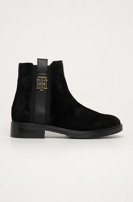 Tommy Hilfiger - Semišové topánky