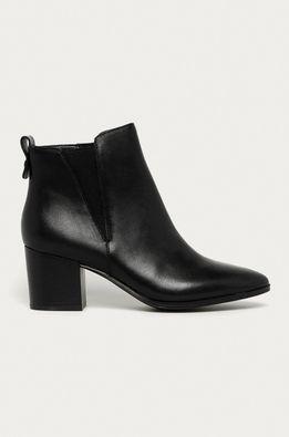 Aldo - Kožené členkové topánky Ryeland