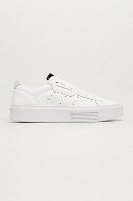adidas Originals - Kožené boty Sleek Super
