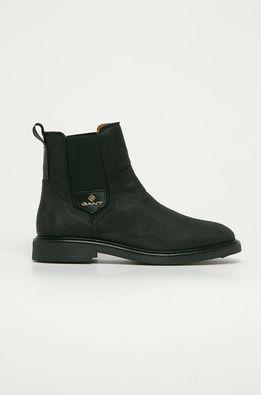 Gant - Kožené topánky Chelsea Ashleyy