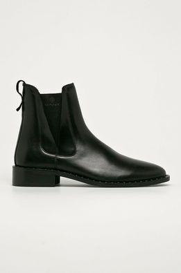 Gant - Kožené topánky Chelsea Hampton