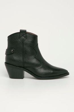 Pepe Jeans - Kožené členkové topánky WESTERN W BASS