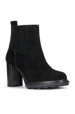 Geox - Semišové topánky