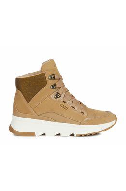 Geox - Pantofi de piele intoarsa