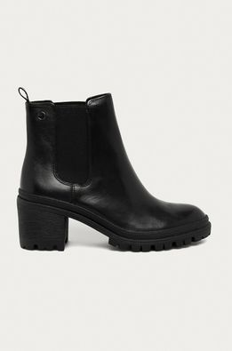 Tamaris - Kožené topánky Chelsea