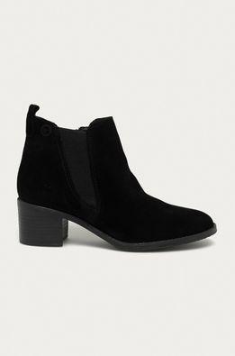 Tamaris - Kožené členkové topánky